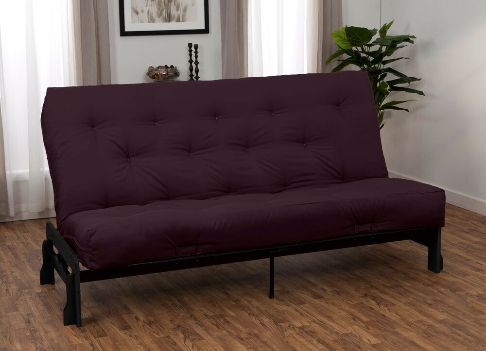 Bali Wood Metal Futon Frame And Futon Mattress Set Choose