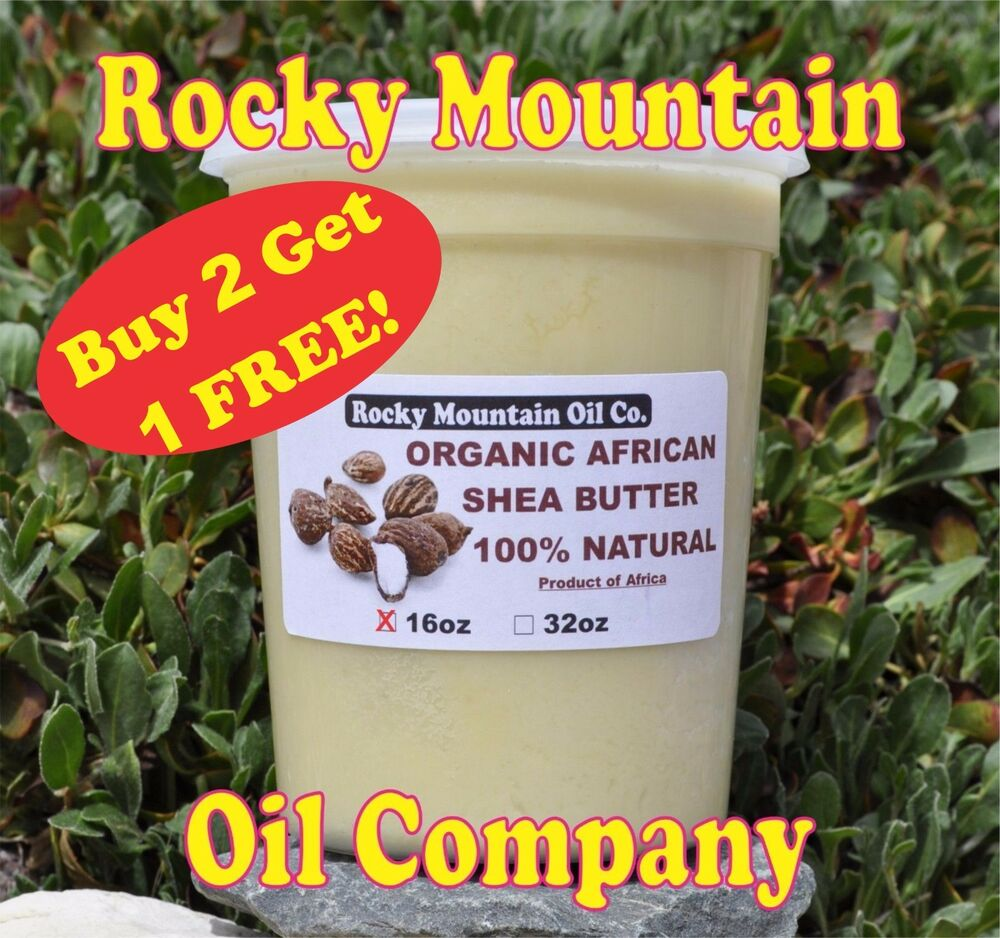 100 organic virgin raw african shea butter unrefined 16 oz 1 lb grade a ebay. Black Bedroom Furniture Sets. Home Design Ideas