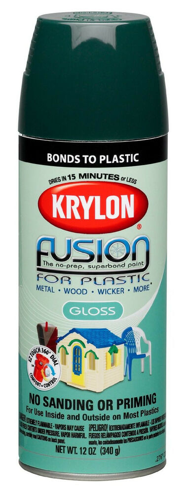 new krylon k02321000 fusion for plastic spray paint 12. Black Bedroom Furniture Sets. Home Design Ideas