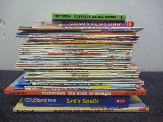 Lot of 10 CLIFFORD The Big Red Dog Children's Books Paperback BRIDWELL
