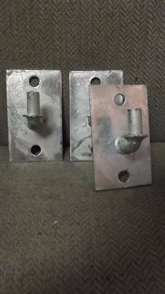 5 8 Quot Male Gate Hinges Chain Link Galvanized Surface Flat