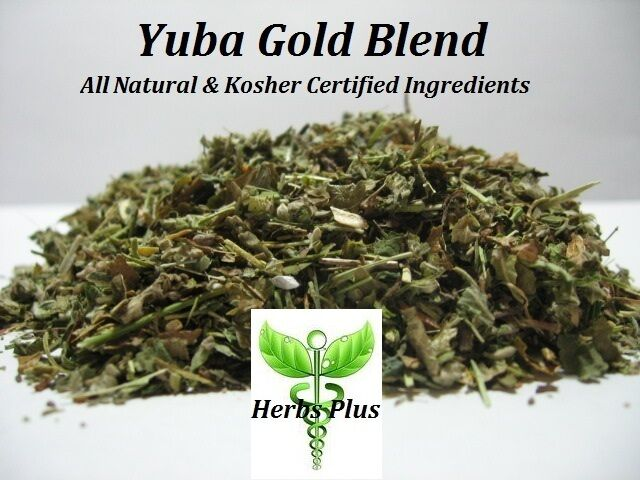 Yuba Gold Herbal Blend All Natural - Damiana Leaf, Scullcap and more ...