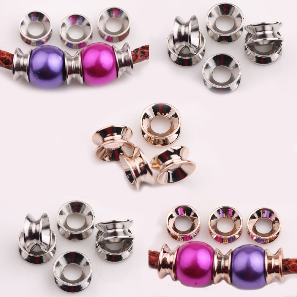wholesale 25 50pcs charms ccb bracelet crafts makings
