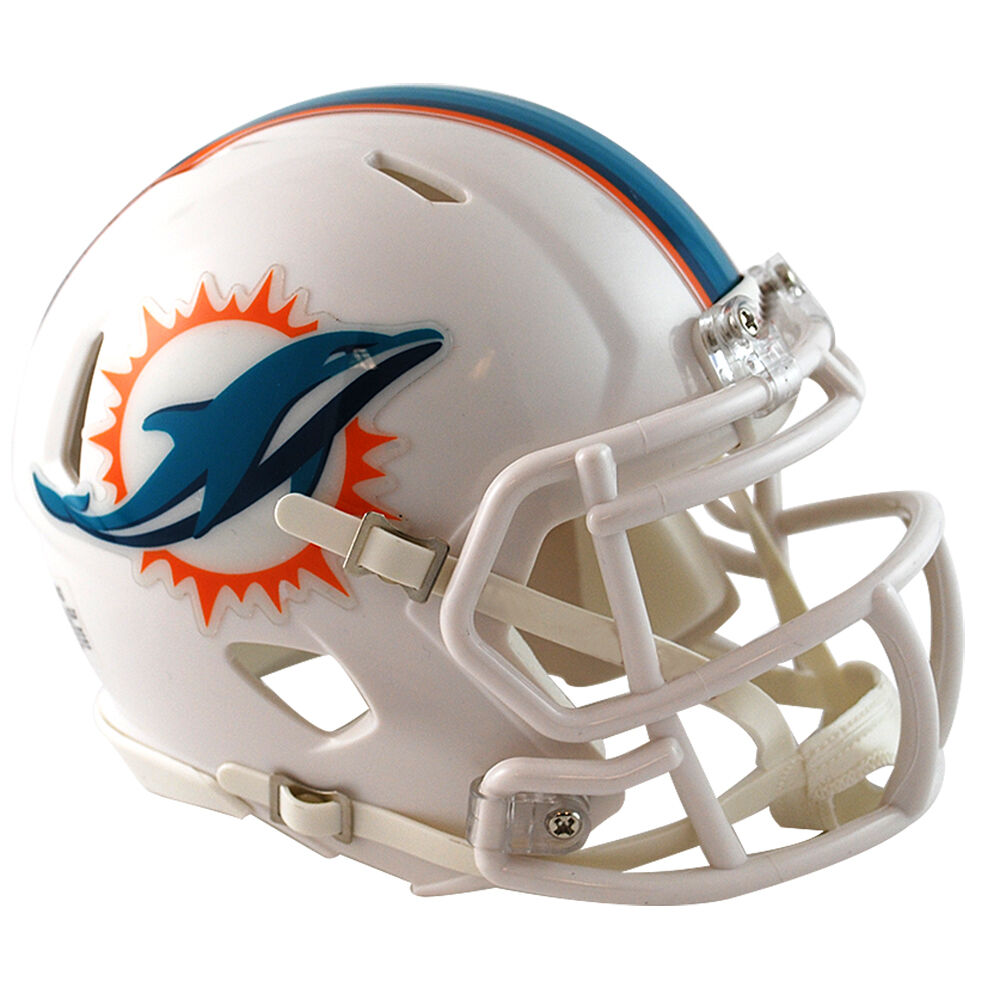 Miami Dolphins Riddell NFL Mini Speed Football Helmet | eBay