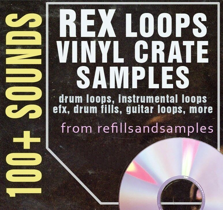 vinyl loops sample vintage drum percussion sounds lp rex break beat breakbeat cd ebay. Black Bedroom Furniture Sets. Home Design Ideas