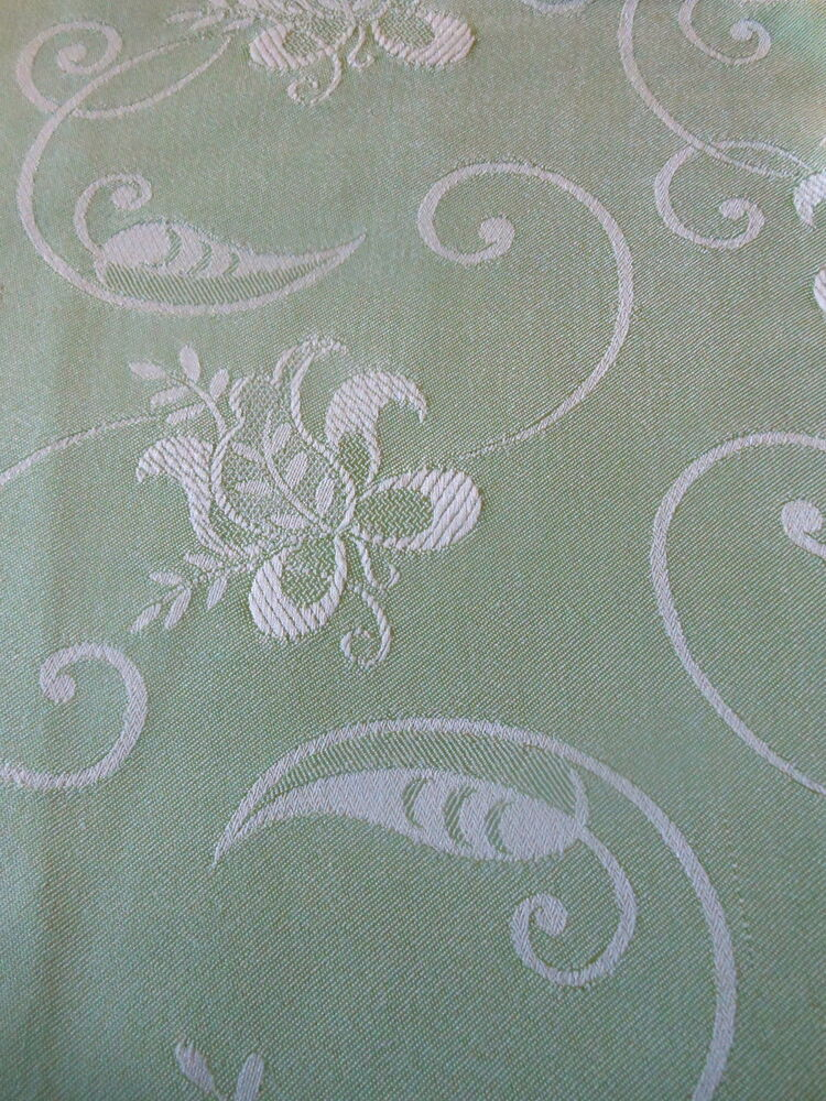 Vintage retro french satin ticking damask fabric for Vintage fabric