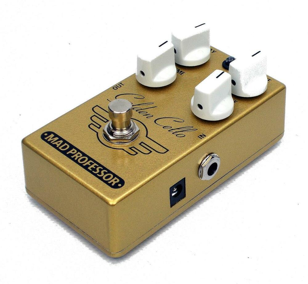 mad professor golden cello delay overdrive guitar effects pedal 1004 ebay. Black Bedroom Furniture Sets. Home Design Ideas