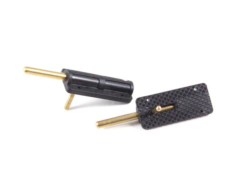 2pcs black canopy hatch latch spring lock rc plane airplane us th011 01306 ebay. Black Bedroom Furniture Sets. Home Design Ideas