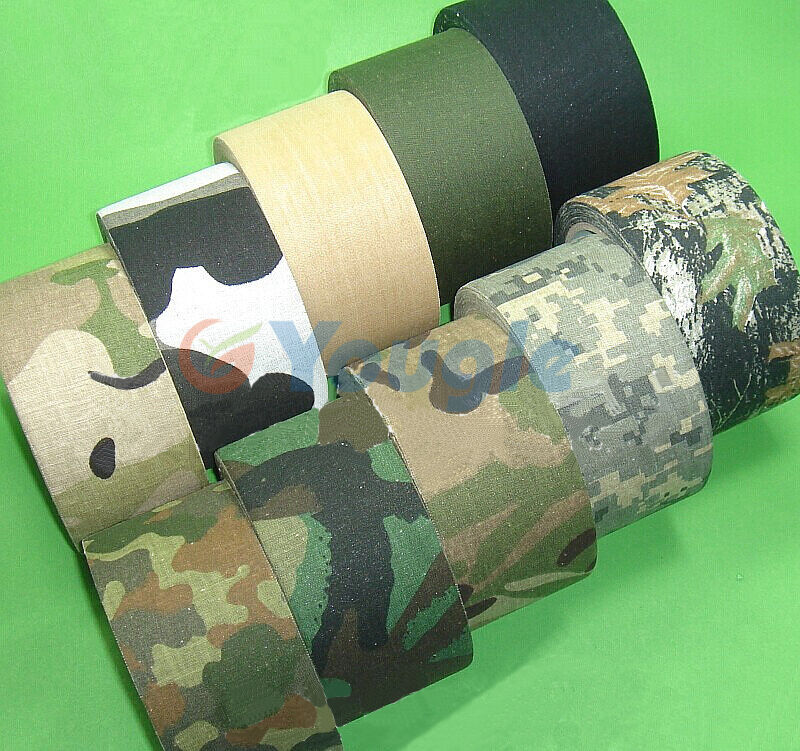 tape camo duct gun rifle camouflage waterproof hunting wrap outdoor stealth 10m warp camping