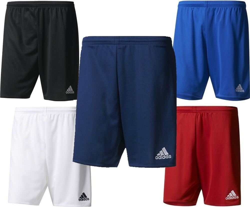adidas parma ii climalite mens sports football gym shorts. Black Bedroom Furniture Sets. Home Design Ideas
