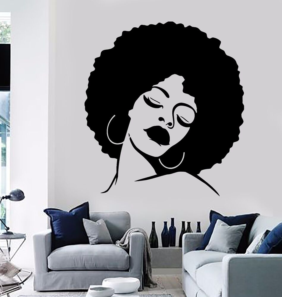 Wall Stickers Vinyl Decal Black Beauty Sexy Hot African