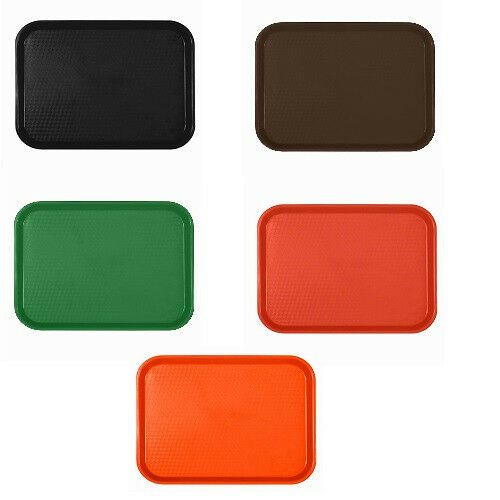 FAST FOOD TRAY |  PLASTIC SERVING  LUNCH CAFETERIA TRAY | RESTAURANT | DINER ##