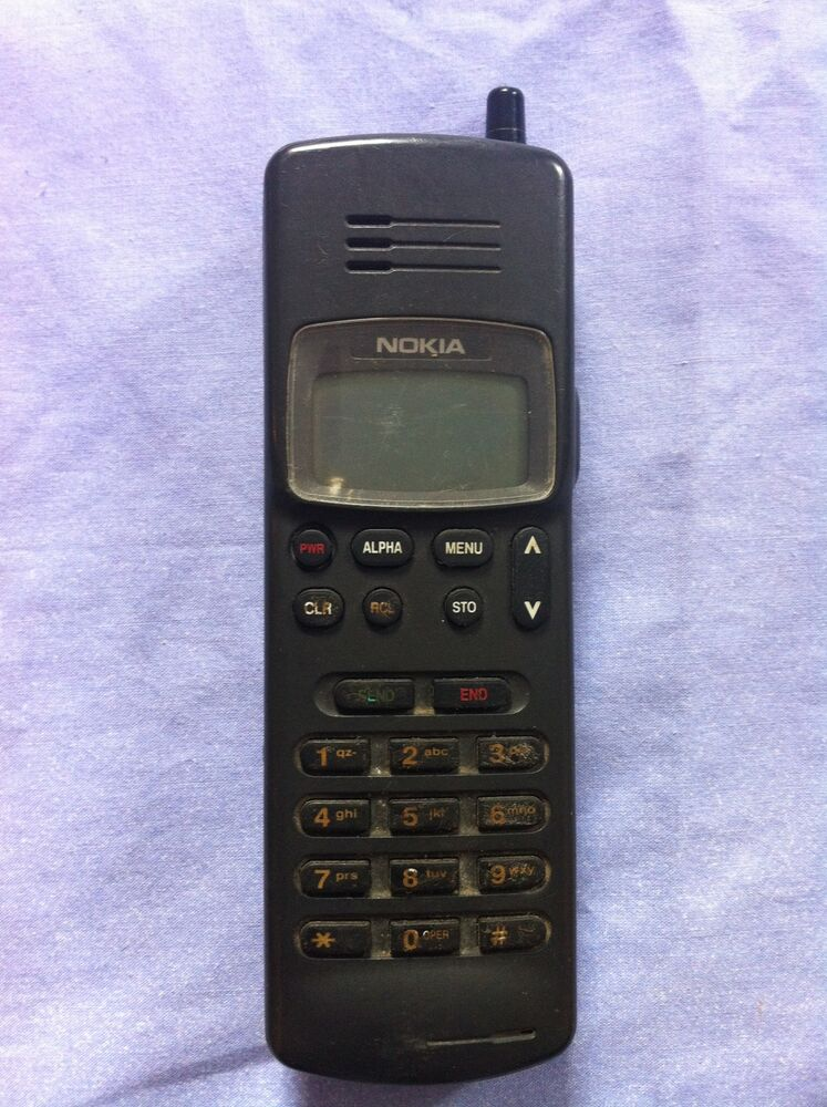 NOKIA 211 FIRST Cell Phone rare vintage 1992 year | eBay  NOKIA 211 FIRST...