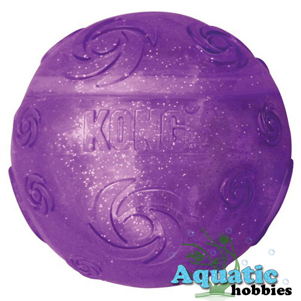 Kong Squeezz Crackle Extra Large Ball Quieter Play Dog