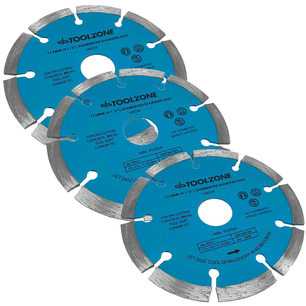 Diamond Cutting Disc Blade 4 5 Segmented Masonry Angle