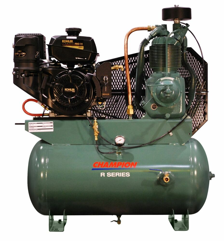 champion hdr5 3k diesel engine driven air compressor