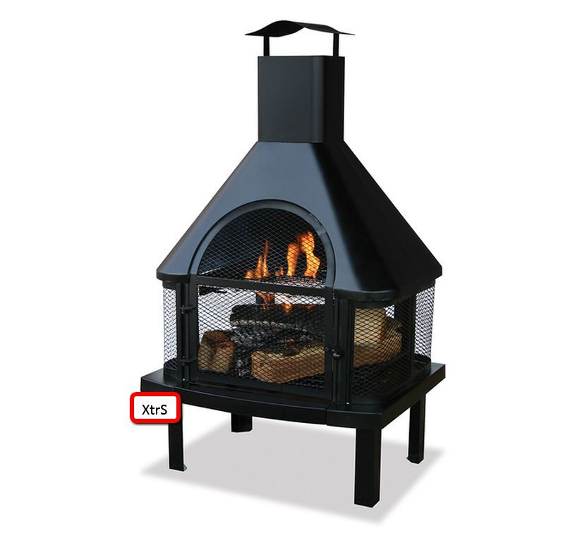 Outdoor fire pits patio firepit outside chiminea backyard for Global outdoors fire table