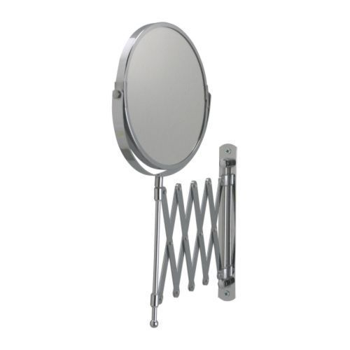 extendable magnifying bathroom mirror new ikea extendable magnifying wall mount makeup 18258