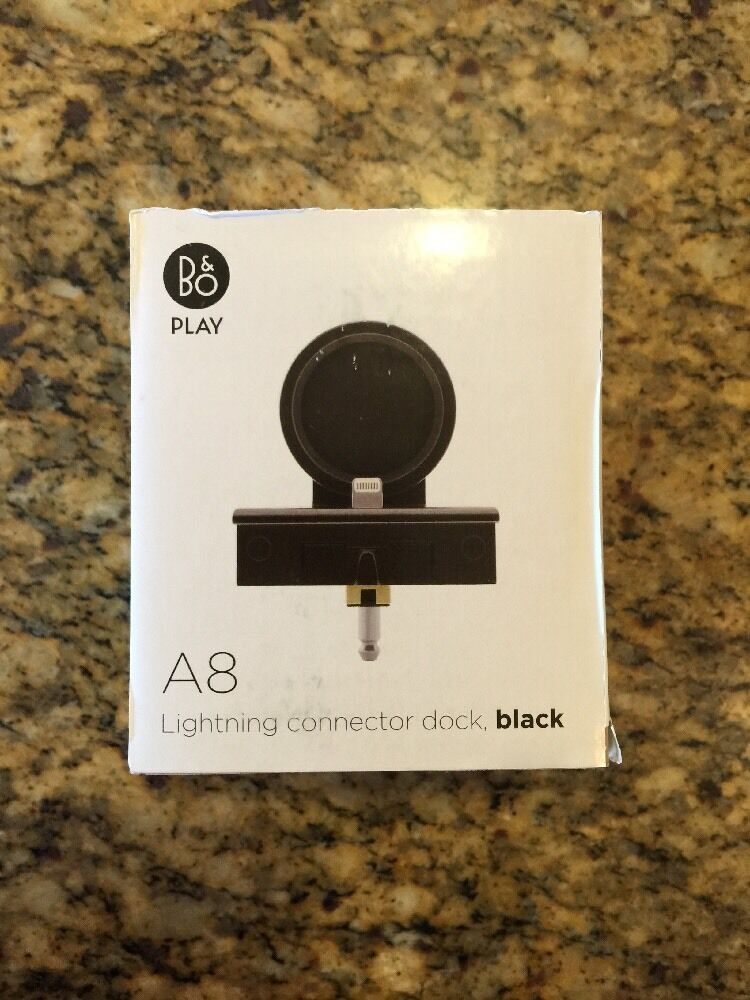 backup now iphone amp olufsen beoplay a8 lightning dock black for apple 10219