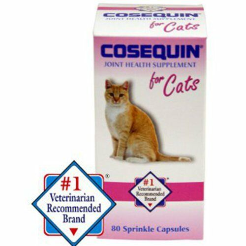 cosequin for cats 80 sprinkle capsules feline cat joint health supplement ebay. Black Bedroom Furniture Sets. Home Design Ideas
