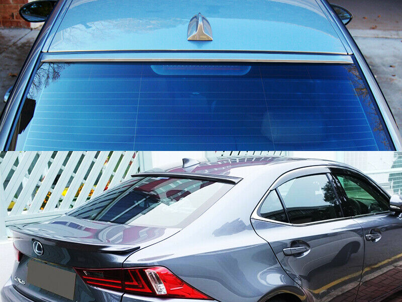 Painted black rear window roof spoiler for bmw 5 series for 1998 bmw 528i rear window regulator