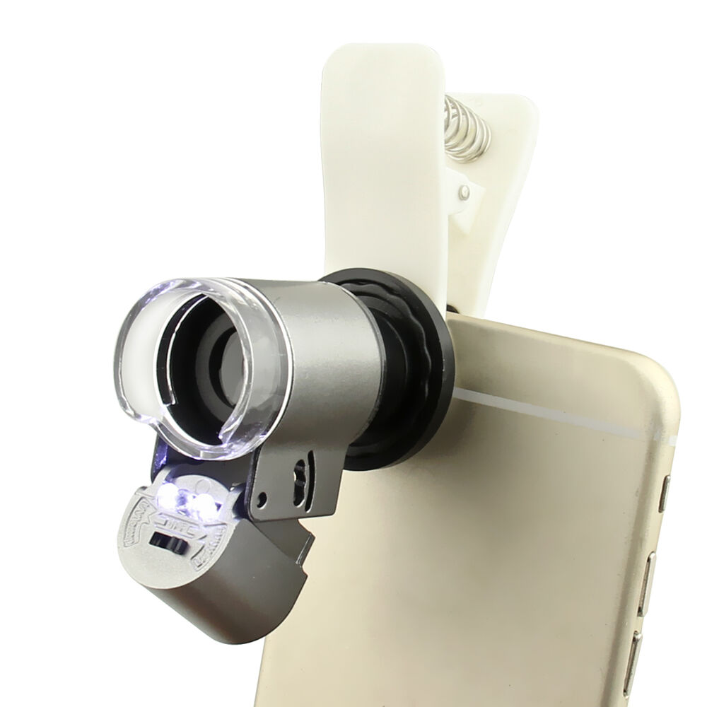 universal 65x optical zoom mobile phone camera microscope