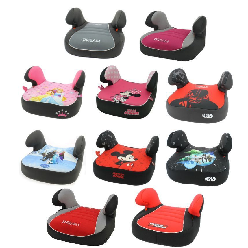 Baby Booster Seat >> Nania Dream Childrens/Child Disney Car Booster Seat - Group 2/3 4 - 12 Years | eBay