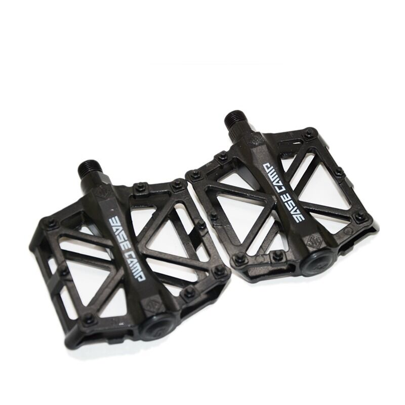 mtb bmx road mountain bike platform pedals flat alloy. Black Bedroom Furniture Sets. Home Design Ideas