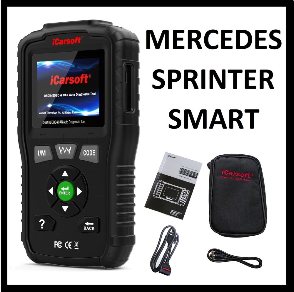 mercedes benz obd2 check engine light code reader scanner