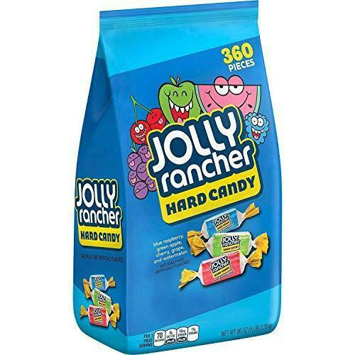 Jolly Rancher Hard Candy 5 Lb Individually Wrapped