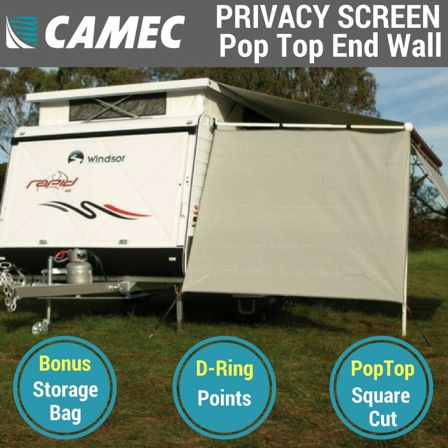 Camec Pop Top Privacy Screen End Wall Side Shade, Poptop ...