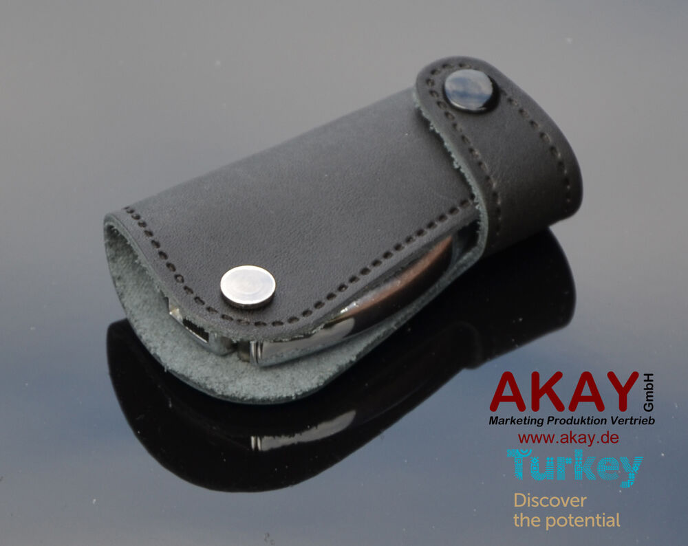 Premium leather case cover for mercedes car key fob holder for Mercedes benz amg key fob back cover