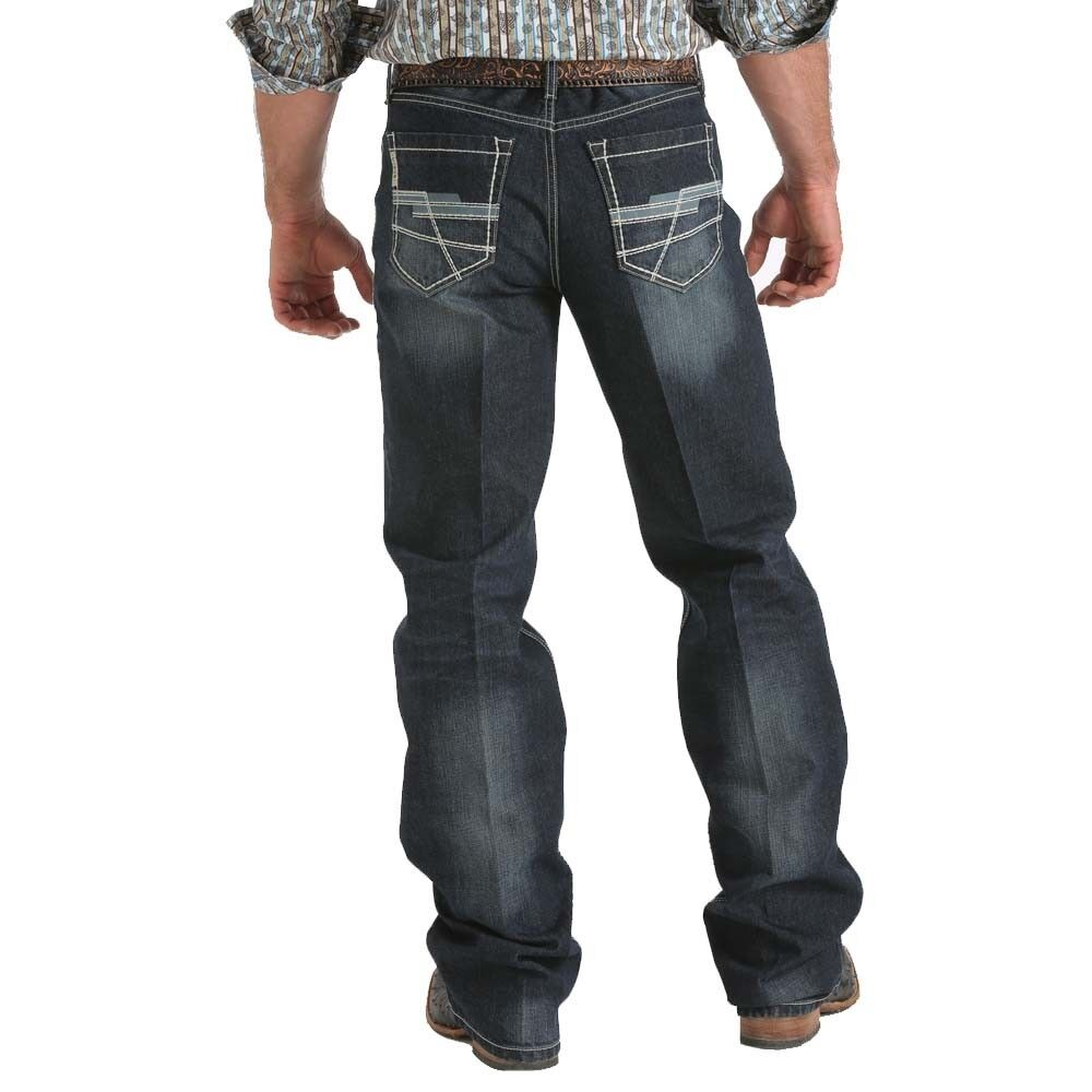 CINCH Men's GRANT Relaxed Fit Boot Cut Dark Wash Mid-Rise ... - photo#46