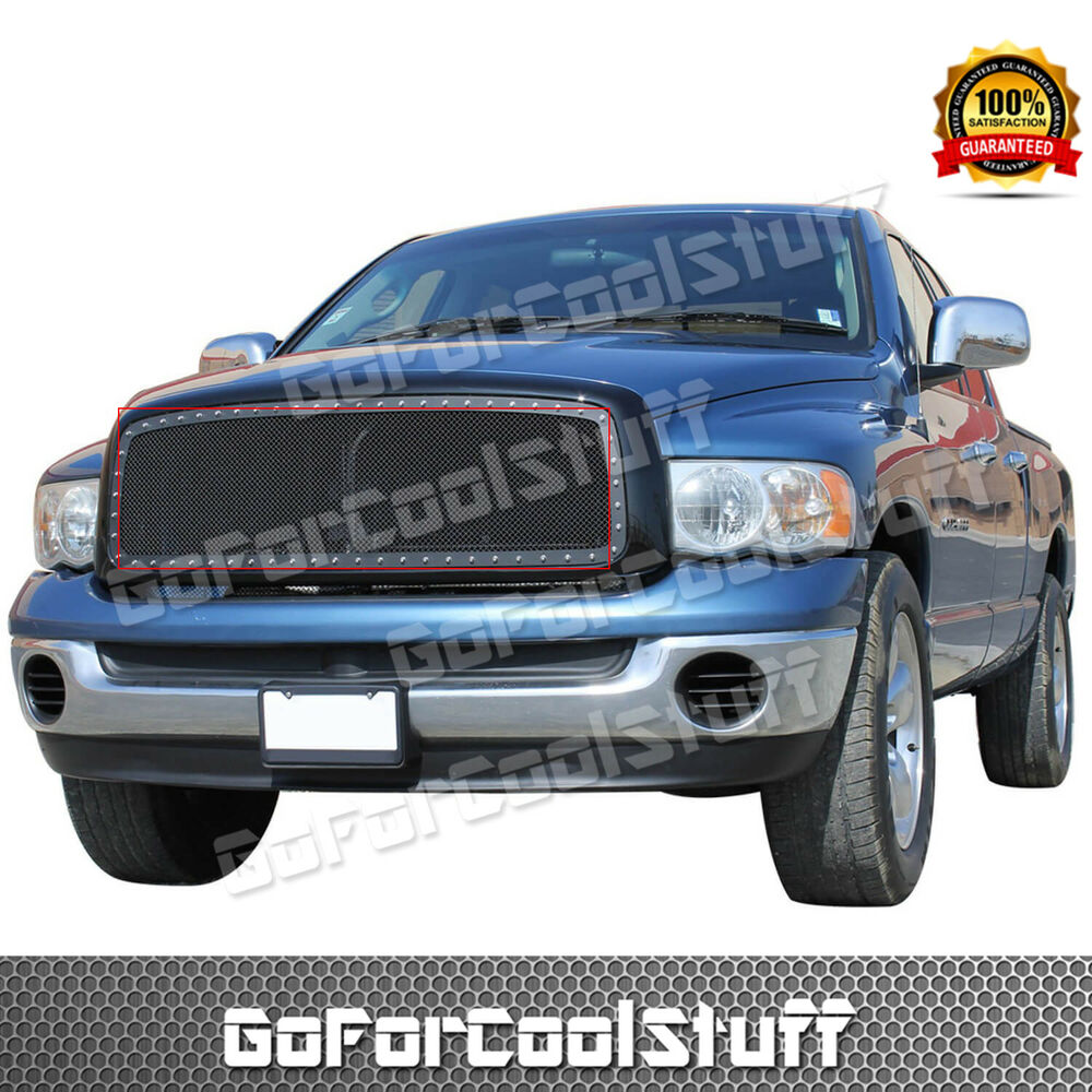 Dodge Ram 1500: For 2002 2003 2004 2005 Dodge Ram 1500 Steel Black Mesh