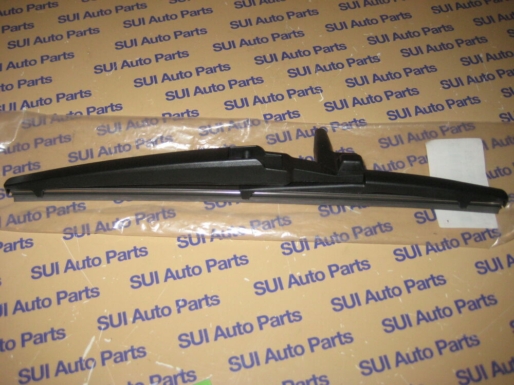 Toyota 4runner Rear Window Wiper Blade Genuine Factory Oem 2003