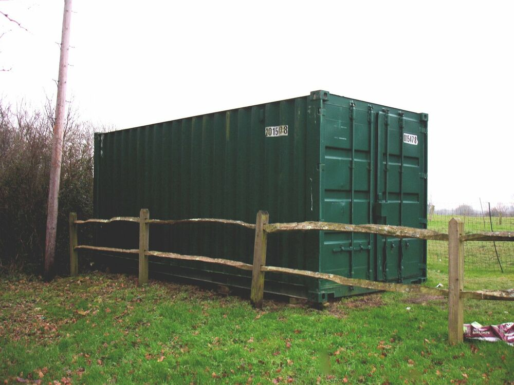 For sale metal shipping containers secure dry storage for Metal shipping crate