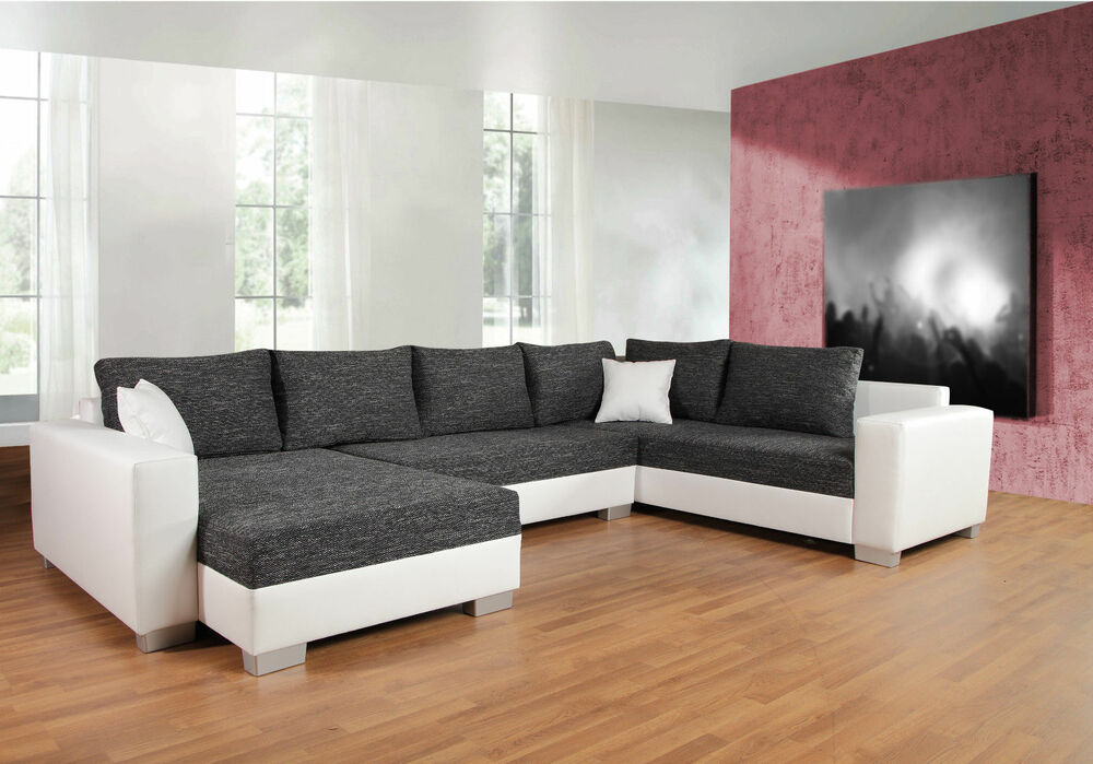 couchgarnitur sofa garnitur schlafsofa puebla mit. Black Bedroom Furniture Sets. Home Design Ideas
