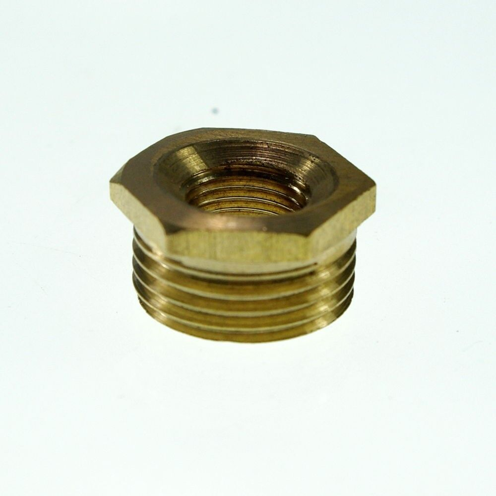 Pcs brass  male quot female bspp adapter reducer