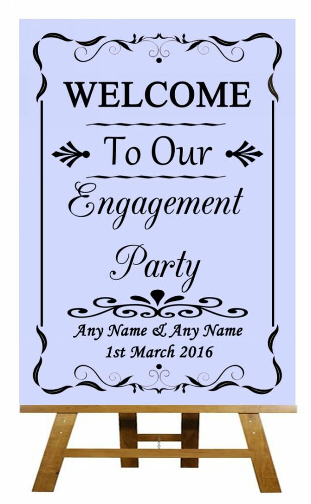 how to plan an engagement party uk