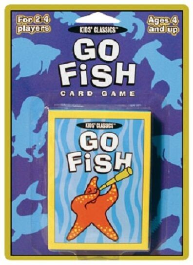Go fish kids 39 classics card game new ebay for Go fish games