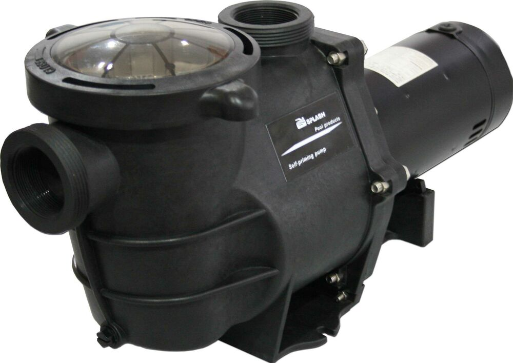 Deluxe energy efficient 2 speed pump for in ground for High efficiency pool pump motor