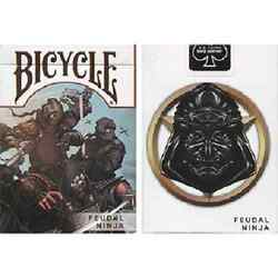 Bicycle Feudal Ninja Deck by Crooked Kings Playing Cards New
