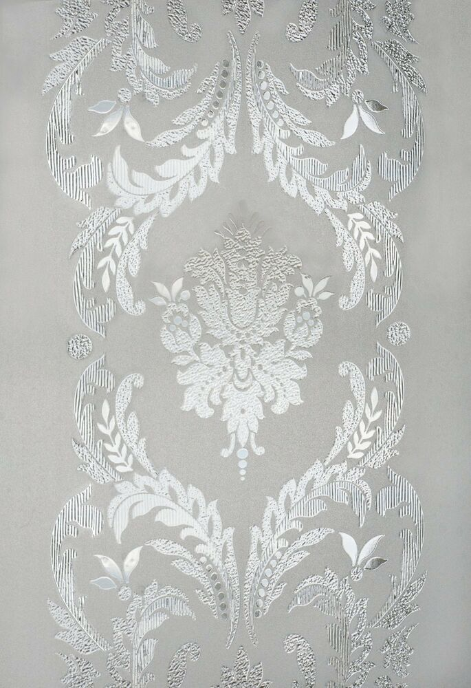 New 12x83 Chateau Etched Glass Sidelight Window Film Vinyl