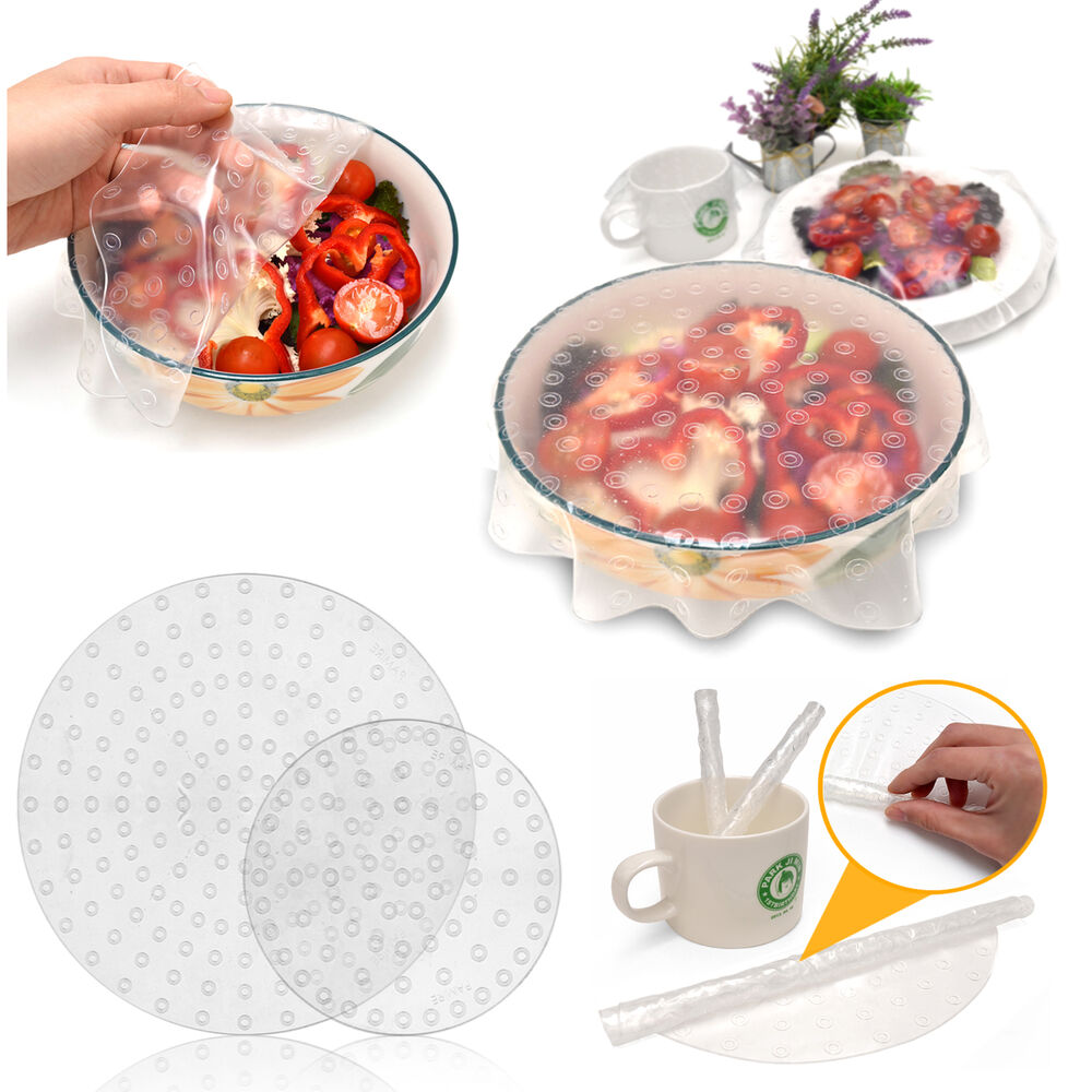 korea silicone food eco wrap cover kitchen tools clean. Black Bedroom Furniture Sets. Home Design Ideas