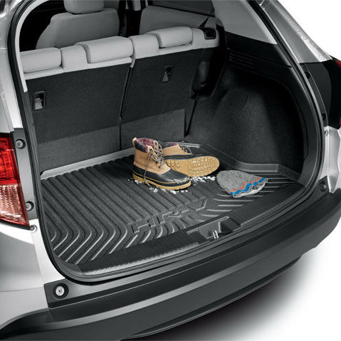 Genuine oem honda hr v cargo tray 2016 2017 hrv trunk for Honda hrv cargo space