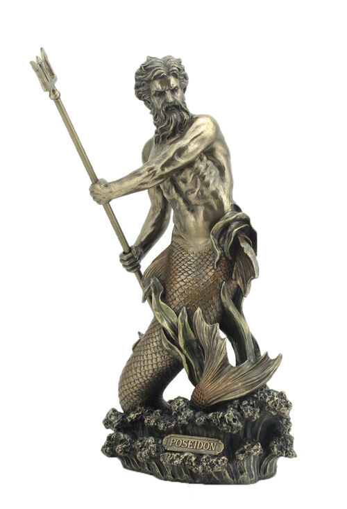 Poseidon Greek Mythology Roman Neptune Sea God Merman
