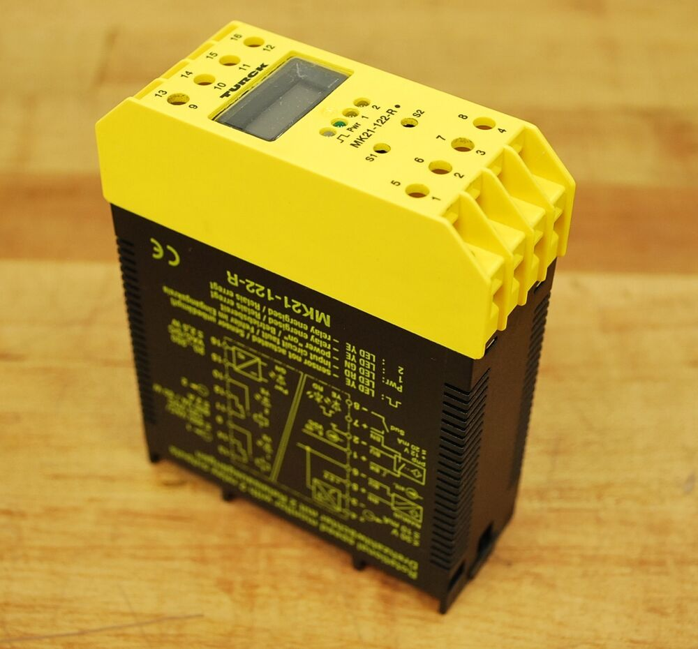 Rotating Speed Monitor : Turck mk r rotational speed monitor with relay