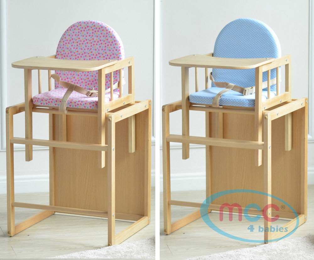 Mcc 174 Brand New 3 In 1 Baby Wooden High Chair Amp Play Table