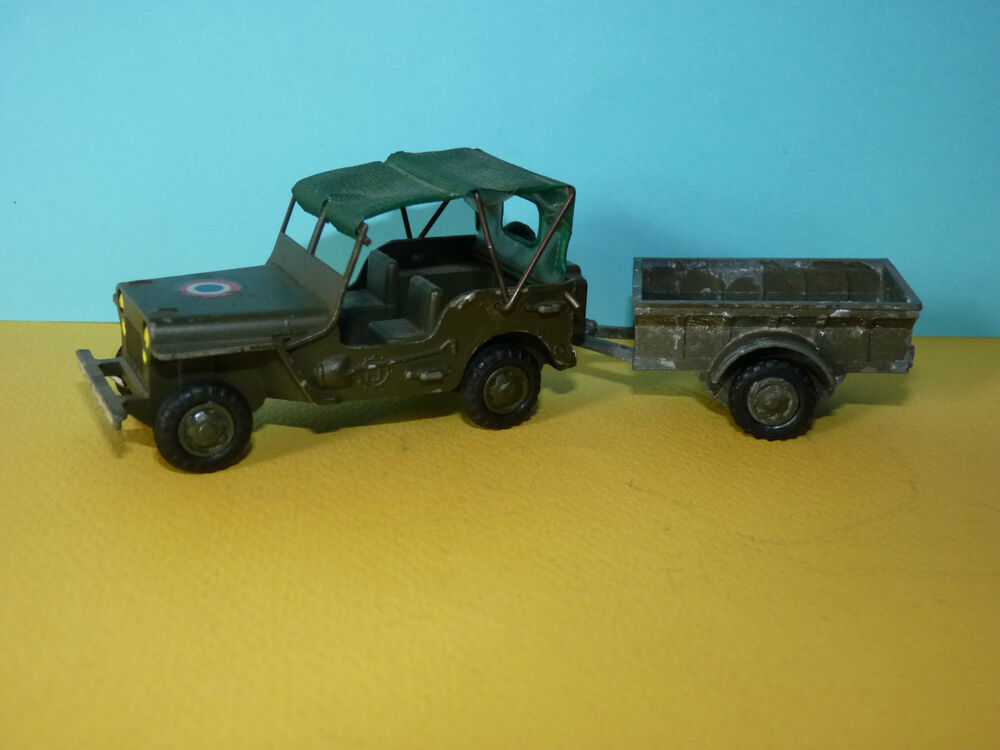 jeep willys militaire gevarm fj france jouets 1 43 ebay. Black Bedroom Furniture Sets. Home Design Ideas