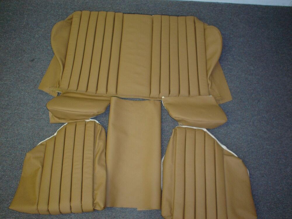 Mercedes benz r107 rear folding jump seat covers 280sl for Mercedes benz car seat cushion